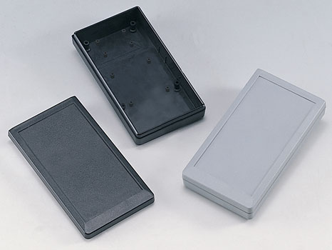 Plastic enclosures for keyboards