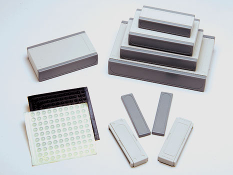 Desktop plastic enclosures