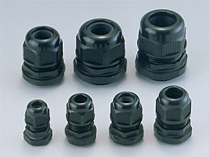 Sealed cable glands PG