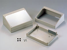 Enclosures for equipment with aluminum panel G1500