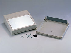 Enclosures for equipment with aluminum panel G1502