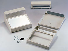 Enclosures for equipment with aluminum panel G1507