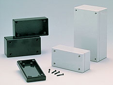 Plastic enclosures for equipment of general use G10xx D