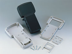 T-shaped portable plastic enclosures G828
