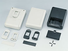 Portable plastic enclosures G909
