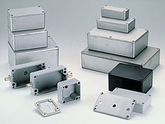 Sealed diecast aluminium enclosures G1xx
